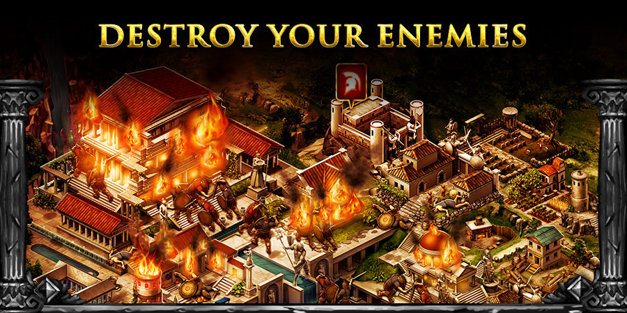 games like game of war fire age